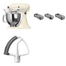 Set KitchenAid - kuchyňský robot 5KSM150PSEAC + KPRA strojek na těstoviny + Doprava zdarma