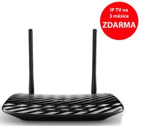 TP-Link Archer C2 AC750 + IP TV na 3 měsíce ZDARMA (Archer C2) černý