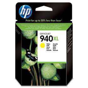 HP No. 940XL, 1400 stran - originální (C4909AE) žlutá