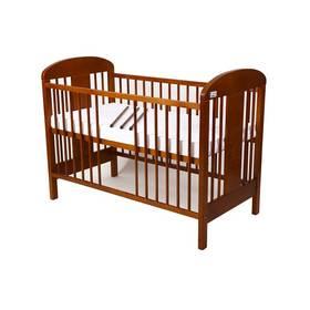 For Baby Miluška vyndavací příčky kaštan Matrace do postýlky For Baby 120x60 cm - bílá (zdarma) + Doprava zdarma