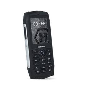 myPhone HAMMER 3 Plus Dual SIM (TELMYHHA3PSI) stříbrný SIM s kreditem T-Mobile 200Kč Twist Online Internet (zdarma)