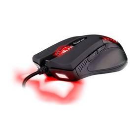 C-Tech Empusa (GM-17R) čierna/červená