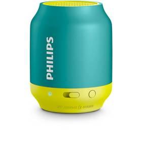 Philips BT50A žlutý/tyrkysový