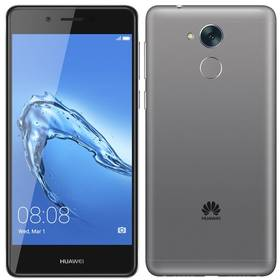Huawei Nova Smart Dual SIM (SP-NOVASDSTOM) šedý SIM s kreditem T-Mobile 200Kč Twist Online Internet (zdarma) + Doprava zdarma