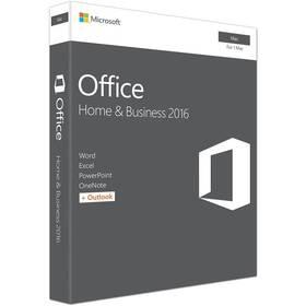 Microsoft Office 2016 pro domácnosti a podnikatele pro MAC CZ (W6F-00999) + Doprava zdarma