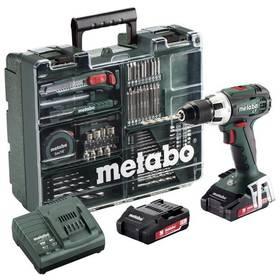 Metabo BS 18 LT MD 2x2,0Ah 1-13mm zelená + Doprava zdarma