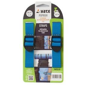 Yate se sponou 2x100, 2ks čierne/modré