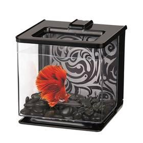 Akvárium Hagen Akvárium Marina Betta EZ Care Kit 2,5l čierne/plast
