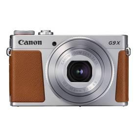 Canon PowerShot PowerShot G9 X Mark II Silver (1718C002) stříbrný Pouzdro foto Canon DCC-1890 - pro PowerShot G9X/G9X MII (zdarma) + Doprava zdarma