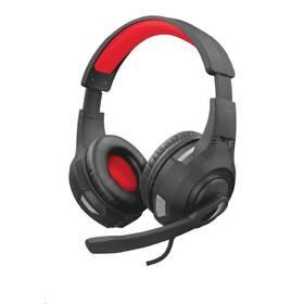 Trust GXT 307 Ravu Gaming pro PC/PS4 - červený