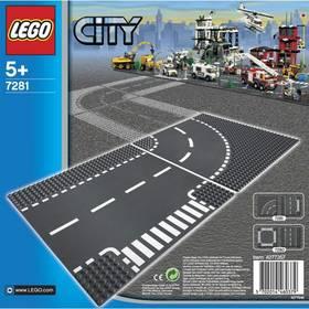 LEGO® CITY® 7281 Křižovatka ve tvaru T a zatáčky