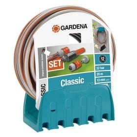 Gardena – nástěnný držák na hadici s hadicí
