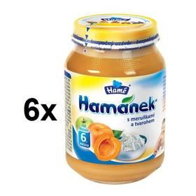 Hamánek s meruňkou a tvarohem 6x190g