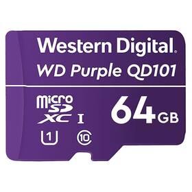 Western Digital Purple microSDXC 64GB UHS-I U1 (WDD064G1P0C)