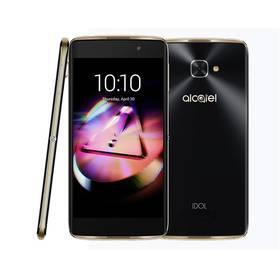 """ALCATEL IDOL 4S 6070K 5,5"""" + VR box (6070K-2BALE17 ) černý/zlatý Voucher na skin Skinzone pro Mobil CZSoftware F-Secure SAFE 6 měsíců pro 3 zařízení (zdarma) + Doprava zdarma"""
