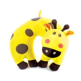Spokey BAMBINI cestovní dětský mikrokuličky žirafa