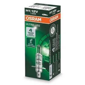 Autožárovka Osram 12V H1 55W P14.5s 1ks Ultra Life 3x delší životnost