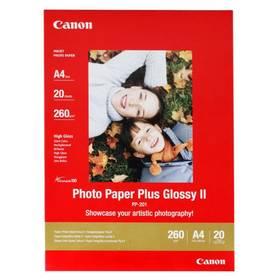 Fotopapier Canon PP201 A4, 260g, 20 listů (2311B019) biely