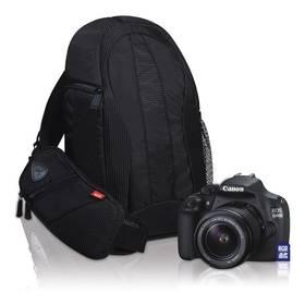Digitálny fotoaparát Canon EOS 1200D + 18-135 + 8 GB SD karta + batoh EG300 (9127B112) čierny
