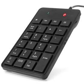 C-Tech KBN-01, numerická (KBN-01) černá