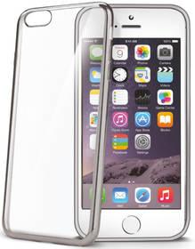 Kryt na mobil Celly Laser pro Apple iPhone 6/6s (BCLIP6SSV) strieborný