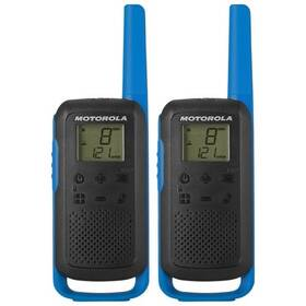 Motorola TLKR T62 (B6P00811LDRMAW) modrý (vrácené zboží 8800944644)