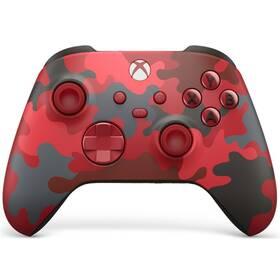 Microsoft Xbox Series Wireless - Daystrike Camo Special Edititon (QAU-00017) červený