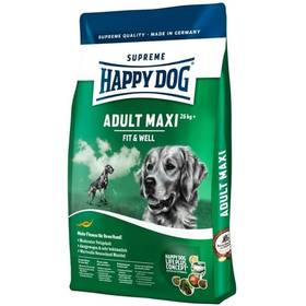 HAPPY DOG MAXI Adult 15 kg + Antiparazitní obojek za zvýhodněnou cenu + Doprava zdarma