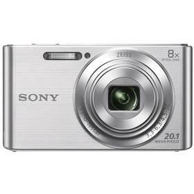 Sony DSC-W830S stříbrný + Doprava zdarma