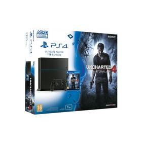 Herná konzola Sony PlayStation 4 1TB + Uncharted 4: A Thiefs End (PS719802655)
