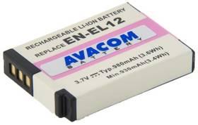 Avacom pro Nikon EN-EL12 Li-ion 3.7V 980mAh (DINI-EL12-734) šedá + Doprava zdarma