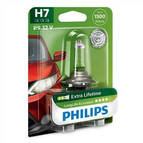 Philips LongLife EcoVision H7, 1ks (12972LLECOB1)