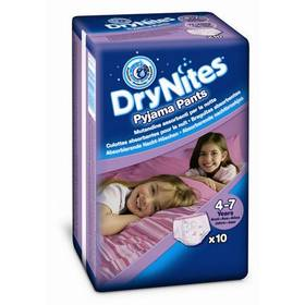Huggies Dry Nites Medium - Girls 17-30 kg, 10 ks