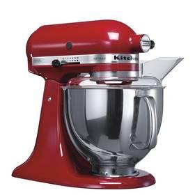 KitchenAid Artisan 5KSM150PSEER červený Příslušenství k robotu KitchenAid 5KFE5T plochý šlehač se stěrkou (zdarma) + Doprava zdarma