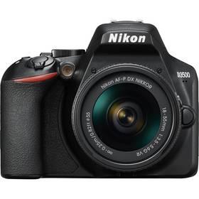 Nikon D3500 + AF-P DX 18-55mm VR (VBA550K001) černý + Doprava zdarma