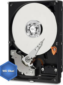 Western Digital Blue 6TB, SATA III, 5400rpm, 64MB cache (WD60EZRZ) + Doprava zdarma