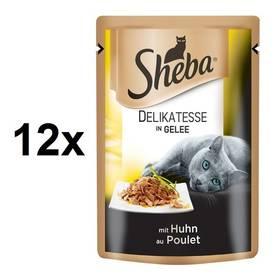 Sheba DELIKATESSE in Gelee Kuřecí v Želé 12 x 85 g