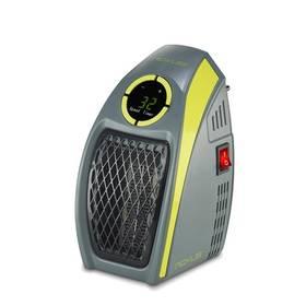 Teplovzdušný ventilátor Rovus Handy heater šedý/zelený