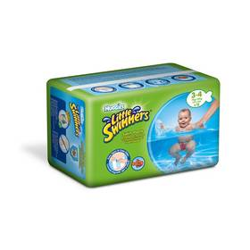 Huggies Little Swimmers vel. 3-4/7-15 kg 12 ks