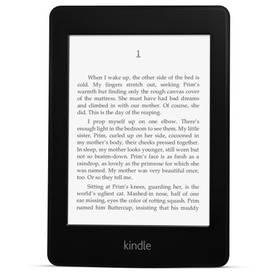 Amazon KINDLE PAPERWHITE 3 2015 s reklamou černá + Doprava zdarma