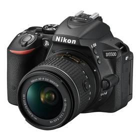Nikon D5500 + AF-P 18-55 VR + 55-200 VR II + Doprava zdarma