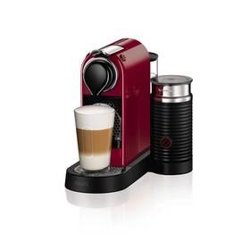 Krups Nespresso Citiz XN760510 červené + K nákupu poukaz v hodnotě 1 000 Kč na další nákup + Doprava zdarma