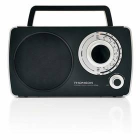 Thomson RT240 (8trt240) černý/stříbrný