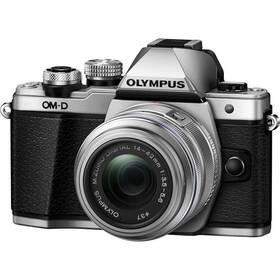 Olympus E-M10 Mark II + 14-42 II stříbrný