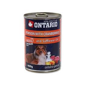 Ontario Adult zvěřina, brusinky a světlicový olej 400g