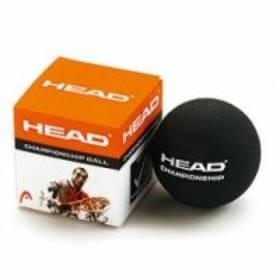 Squash loptička Head Tournament* jednotečkový čierny