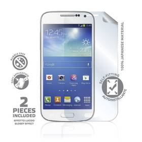 Ochranná fólia Celly pro Samsung Galaxy S4 mini (2 ks) (SBF332)