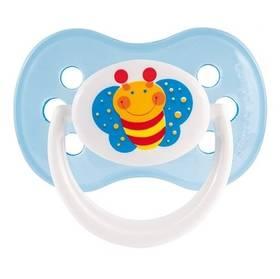 Canpol babies HAPPY GARDEN silikonové třešinka 0-6m modré