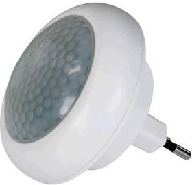 EMOS do zásuvky, 8 x LED s PIR čidlem (1456000040) bílé