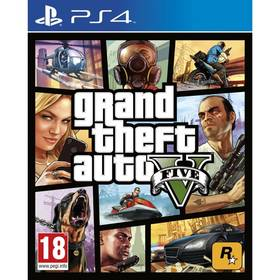 RockStar PlayStation 4 Grand Theft Auto V (5026555416993)